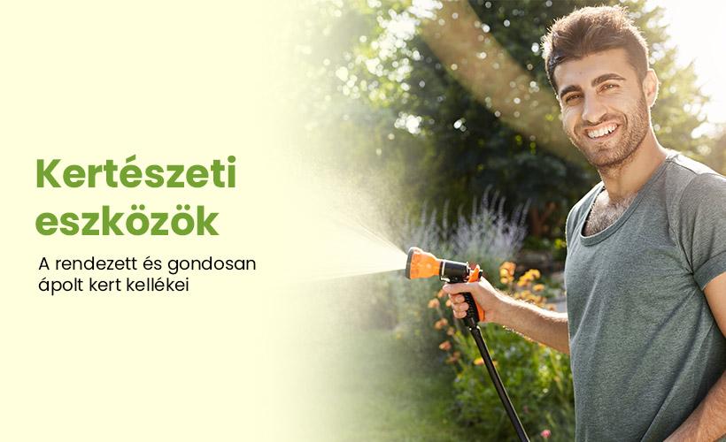 Kertészeti eszközök széles választéka