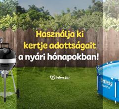 Használja ki kertje adottságait a nyári hónapokban!