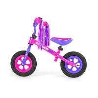 "Milly Mally Dragon AIR futóbicikli 10"" - pink/lila"