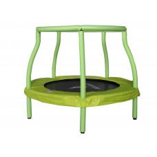 Aga gyerek trambulin 116 cm - Világoszöld Előnézet