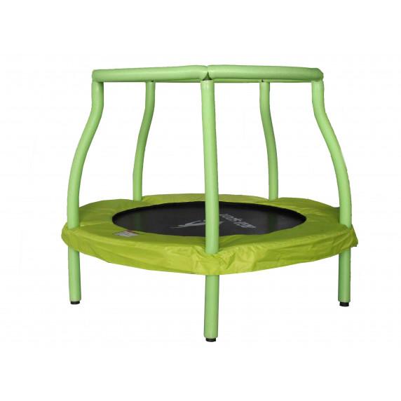 Aga gyerek trambulin 116 cm - Világoszöld