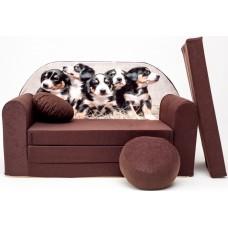 Gyerek kanapé - kiskutyás Előnézet