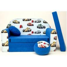 Gyerek kanapé - forma1 autós Előnézet