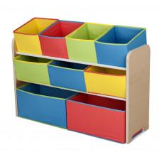 Játéktároló állvány - multicolor Előnézet