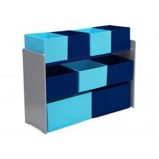 Játéktároló állvány - kék Előnézet
