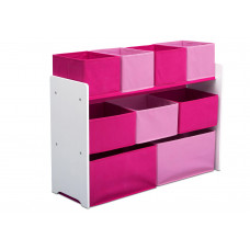 Játéktároló állvány - pink Előnézet