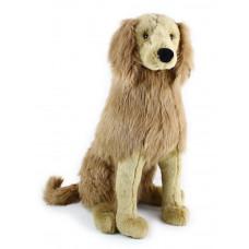 Plüss kutya arany retviever ülő 63 cm Előnézet