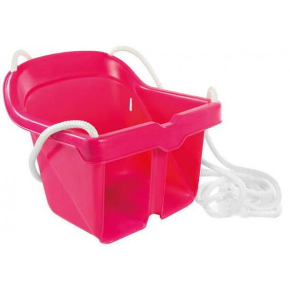Gyerekhinta műanyag Inlea4Fun - rózsaszín