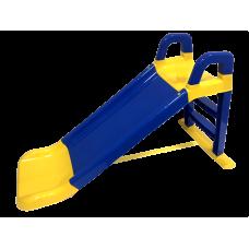 Csúszda kapaszkodóval 140 cm Inlea4Fun - kék Előnézet