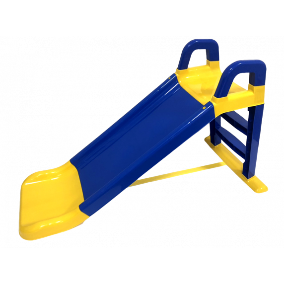 Inlea4Fun csúszda kapaszkodóval 140 cm - kék
