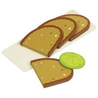 Szeletelt kenyér tálcán Goki