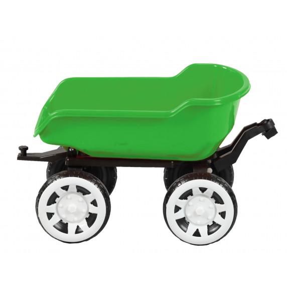 Traktor pótkocsi Inlea4Fun Big Farmer - Zöld