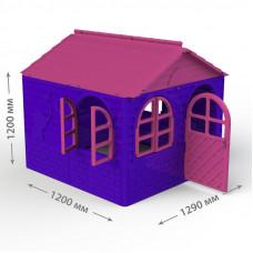 Inlea4Fun DANUT kerti játszóház 129x129x120 cm - Lila Előnézet