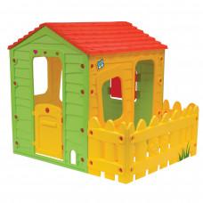 Inlea4Fun FARM 91560 játszóház kerítéssel Előnézet