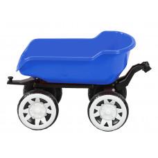 Traktor pótkocsi Inlea4Fun Big Farmer - Kék Előnézet