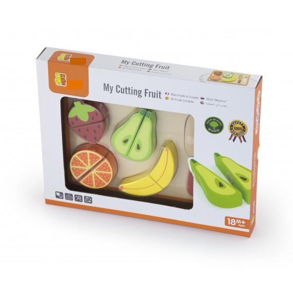 Inlea4Fun fa szeletelhető gyümölcsök kiegészítőkkel - 50978