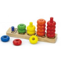 Fa számos ferde torony logikai játék Inlea4Fun 58474