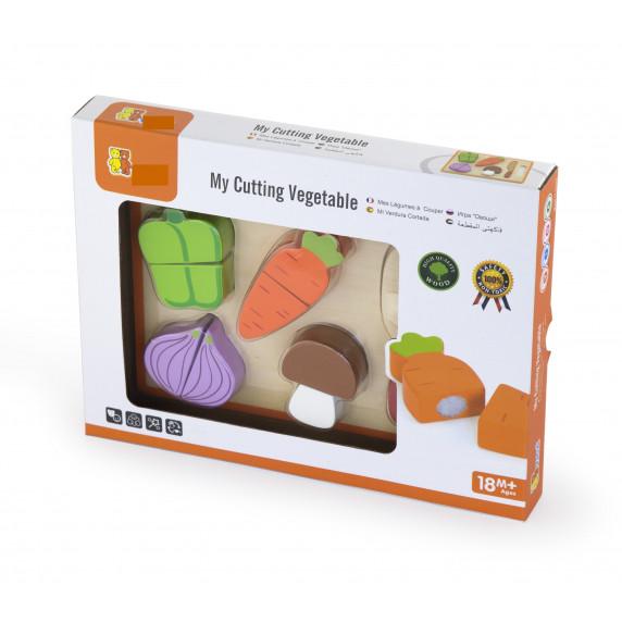 Inlea4Fun fa szeletelhető zöldségek kiegészítőkkel - 50979