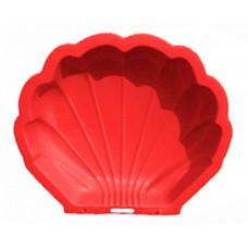 Inlea4Fun Nagy Kagyló homokozó - piros Előnézet