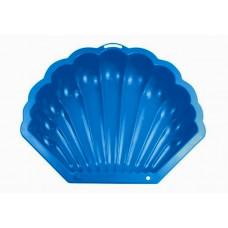 Inlea4Fun Nagy Kagyló homokozó - kék Előnézet