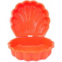 Inlea4Fun Kagyló Ikrek két részes homokozó - Narancssárga