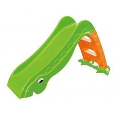Inlea4Fun Dínó csúszda 135 cm - zöld Előnézet