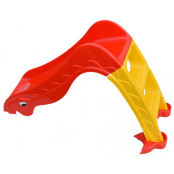 Inlea4Fun Dínó csúszda 135 cm - piros