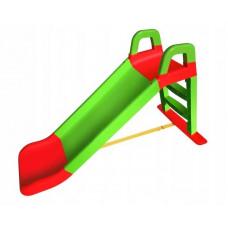 Csúszda kapaszkodóval 140 cm Inlea4Fun - Zöld Előnézet