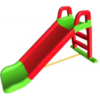 Csúszda kapaszkodóval 140 cm Inlea4Fun - Piros/zöld