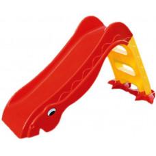 Inlea4Fun Dínó csúszda 135 cm - piros Előnézet