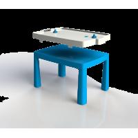 Inlea4Fun EMMA Műanyag gyerekaszal léghokival - Kék