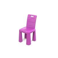 Műanyag gyerekszék Inlea4Fun EMMA - Rózsaszín