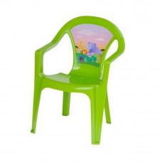 Inlea4Fun műanyag szék gyerekeknek - Zöld Előnézet