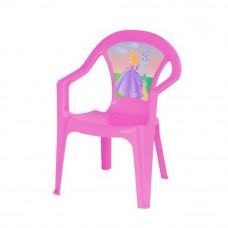 Inlea4Fun műanyag szék gyerekeknek - Rózsaszín Előnézet