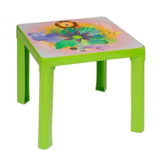 Műanyag kisasztal Inlea4Fun - Zöld