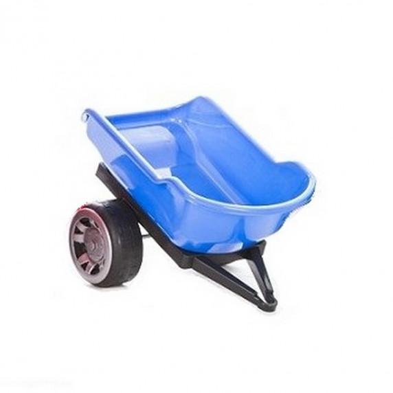 Inlea4Fun Big Farmer traktor pótkocsi - Kék
