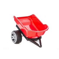 Inlea4Fun Big Farmer traktor pótkocsi - Piros