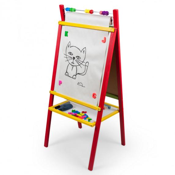 Inlea4Fun CREATIVE állványos mágnes- és rajztábla