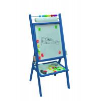 Inlea4Fun forgatható mágnes- és rajztábla -kék