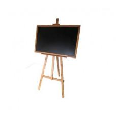 Állványos rajztábla egyoldalas 180cm Inlea4fun - Barna Előnézet