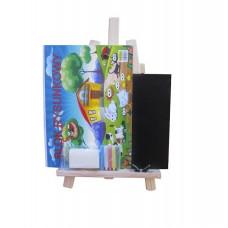 Inlea4Fun asztali festőállvány szett - natúr