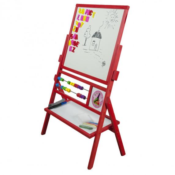 Inlea4Fun MAX állítható rajztábla - Piros