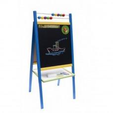 Inlea4Fun ABU állványos mágnes- és rajztábla - Kék Előnézet