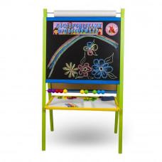 Inlea4Fun FANTASY állványos mágnes- és rajztábla - színes Előnézet