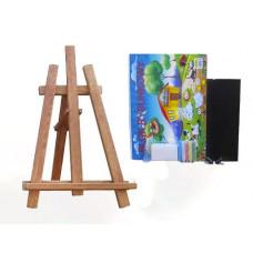 Inlea4Fun asztali festőállvány szett - barna Előnézet