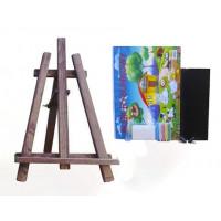 Inlea4Fun asztali festőállvány szett - sötét barna