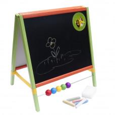 Inlea4Fun TABLE Asztali kétoldalas rajztábla - Színes Előnézet