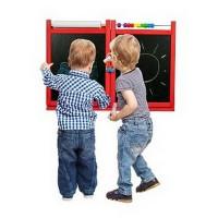 Inlea4Fun FIRST SCHOOL fali rajztábla - Piros