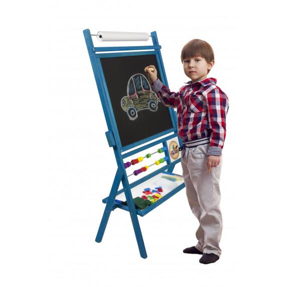 Inlea4Fun BIG BLUE forgatható mágnes- és rajztábla