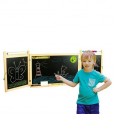 Inlea4Fun FIRST SCHOOL fali rajztábla - Natural Előnézet
